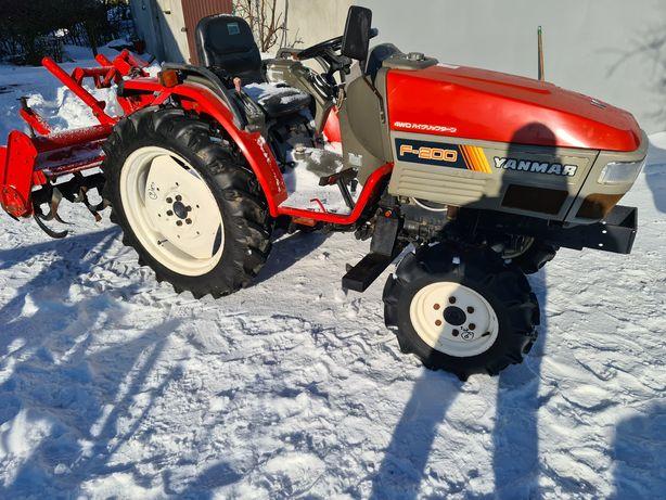 Mini Traktor Yanmar f200,4x4,ogrodniczy,sadowniczy