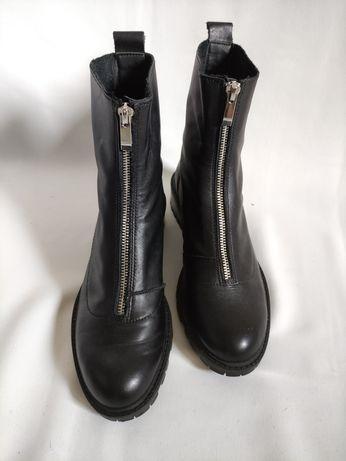 Ботинки женские, Zara,размер 37-38