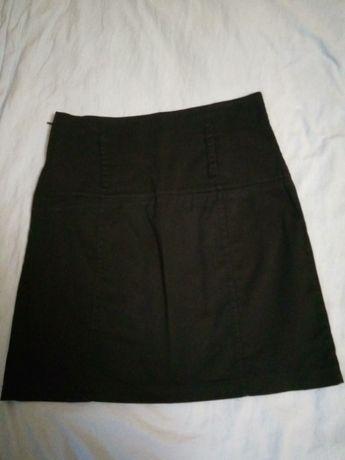 Юбка черная женская, юбка офисная, юбка в школу