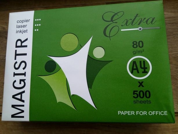 Бумага для принтера , А 4 500 листов