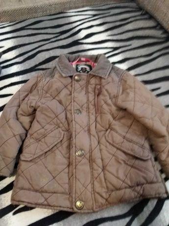 Стёганая деми курточка Next на мальчика 2-3 лет