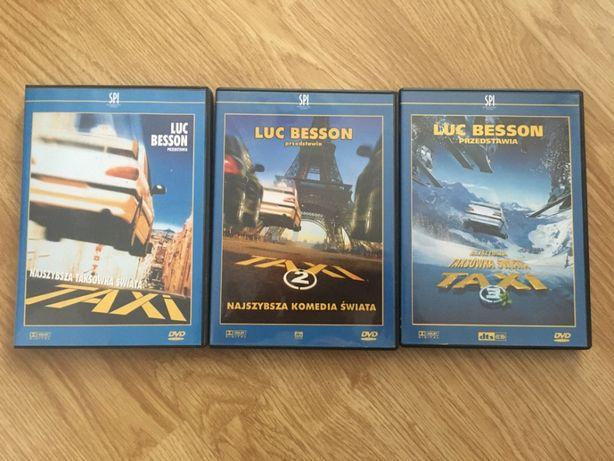 Film DVD Taxi 1, Taxi 2 i Taxi 3