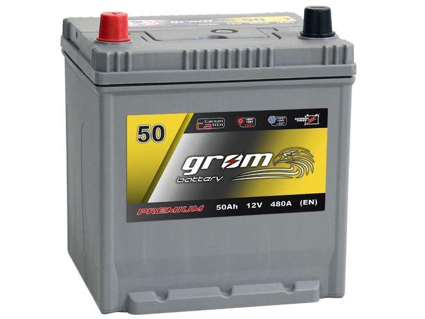 Akumulator Grom 50Ah/480A Japan P+L+