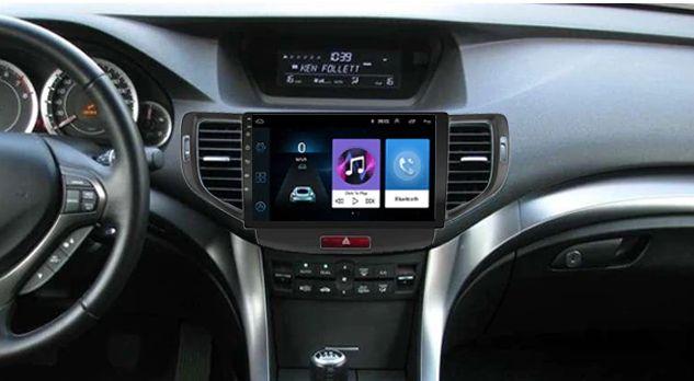 Radio nawigacja Honda Accord 8 2008=12 Android 8.1 WiFi GPS Bluetooth