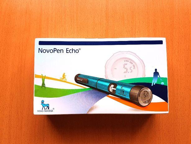 NovoPen Echo Wstrzykiwacz Pen insulinowy + 5 igieł, 2 Kolory Red, Blue