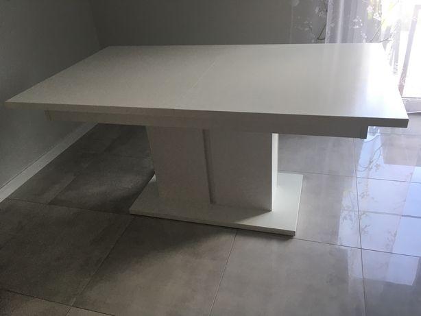 Stół rozkładany biały mat