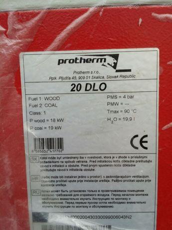 Продам твердотопливный котел Protherm 20 DLO