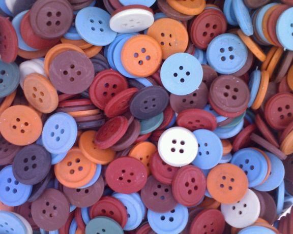 Пуговицы для различных видов спецодежды в цветовом ассортименте