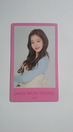 IZ*ONE Jang Wonyoung photocard oficjalna karta kpop Iz One