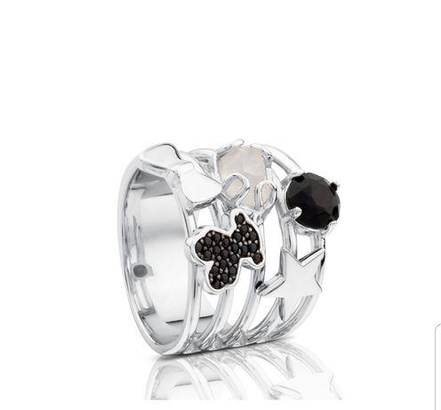 Tous nowy oryginalny pierścionek Join , rozmiar 14 Srebro 925