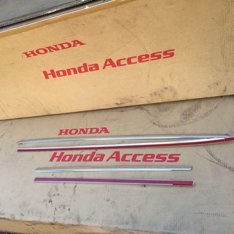 Honda Civic IX 2012- Listwy Ramek Drzwi CHROM Nowe