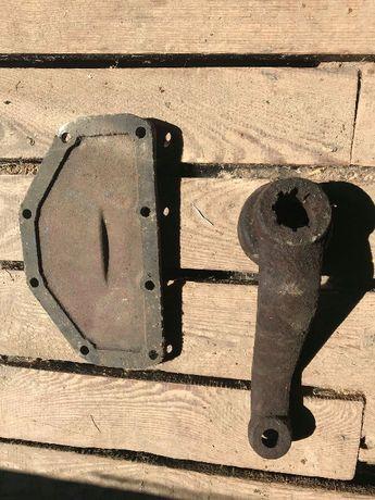 кришка піддона картєра муфти тормозні колодки МТЗ ручника
