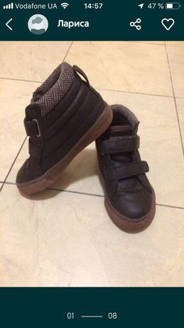 Стильные ботинки/хайтопы/сникерсы Place, Next, Zara, H&M 16,5 см