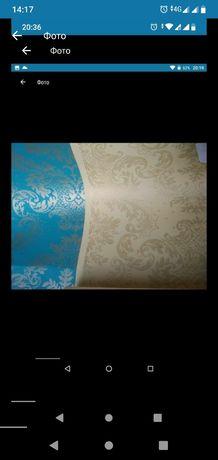 Орнамент золотом Шпалери обои паперові бумажные