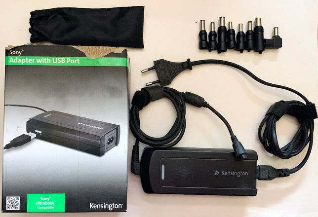 Carregador Laptop Kensington Sony Ultrabook Compativel - ENVIO GRATIS
