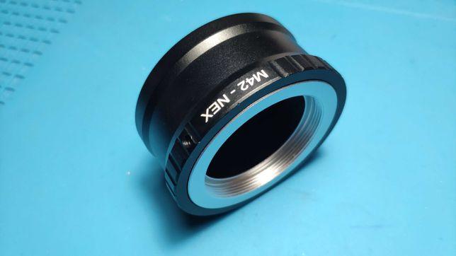 Adaptador Sony Nex E-mount para objetivas M42 anel conversor