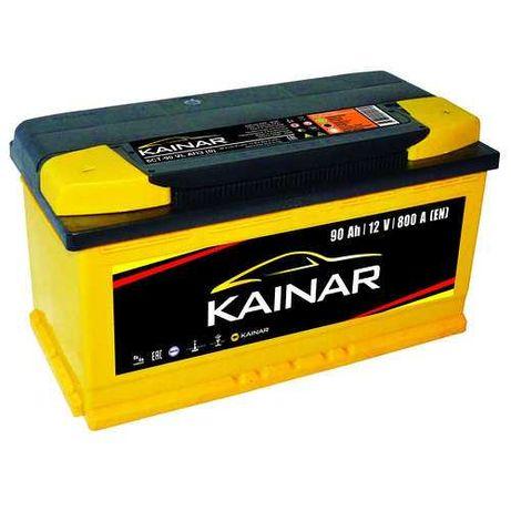 Аккумулятор 90Ah-12v KAINAR Standart+ (353х175х190),R,EN800 R+правый