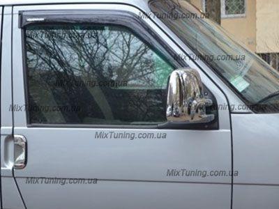 Накладки на зеркала Volkswagen T4 (транспортер Т4), Хром ABS,2шт