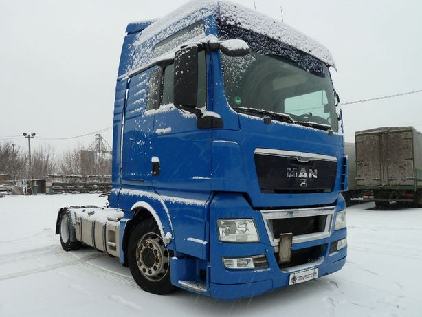 MAN TGX Mega тягач из Германии