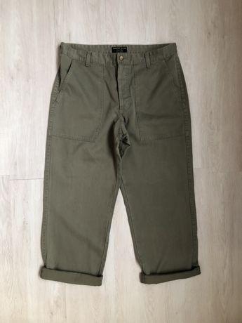 Стильные штаны цвета хаки Leesures by Lee