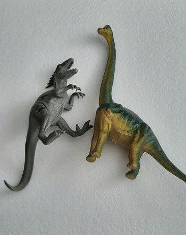Dinozaury plastikowe 2 szt