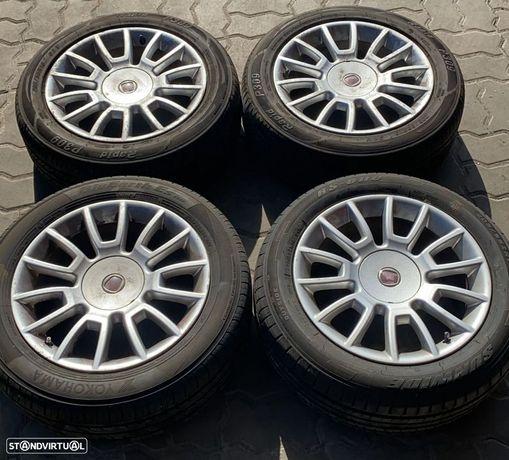 Jantes Fiat Brava R16 com pneus 205/55