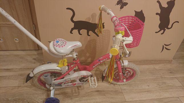 Rowerek dziecięcy dla dziewczynki