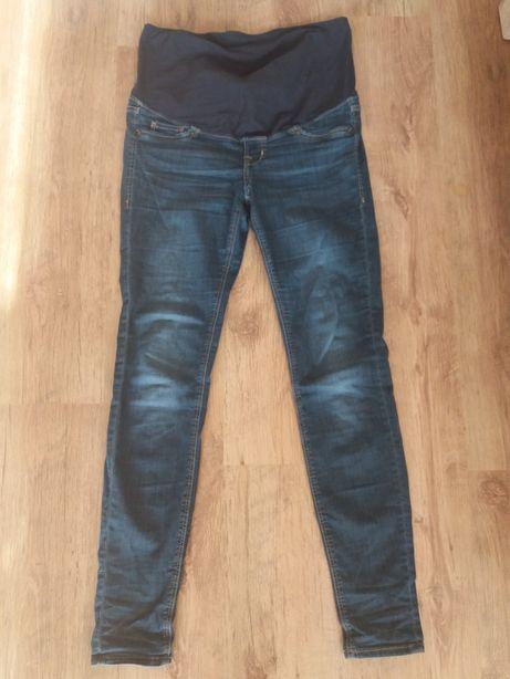 Spodnie ciążowe dżinsy jeansy rurki h&m mama
