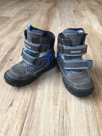 Ботинки зимние geox 24 размер 15 см стелька