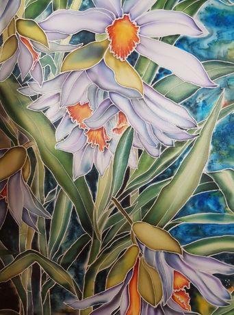 """Картина """"Лиловые цветы"""""""