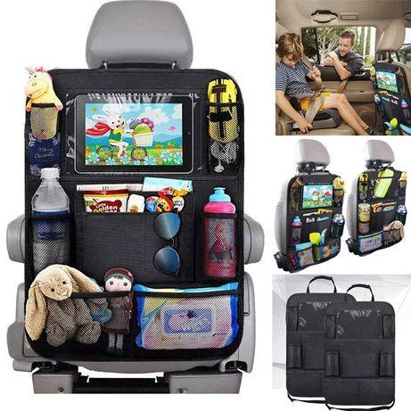 Органайзер для сидения авто защита от детских ножек держатель планшета