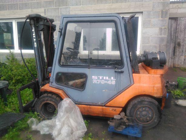 Wózek Widłowy Still R70-45 uszkodzony