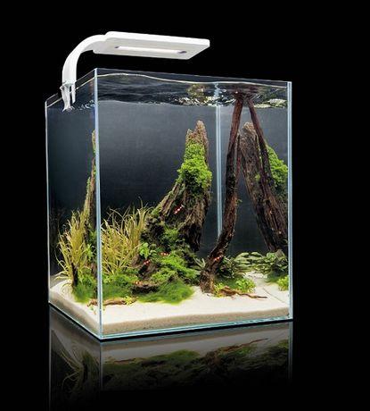 AQUAEL SHRIMP SET DAY & NIGHT 20L czarny akwarium