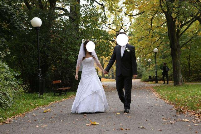 Suknia ślubna+gratisy!!![zobacz]