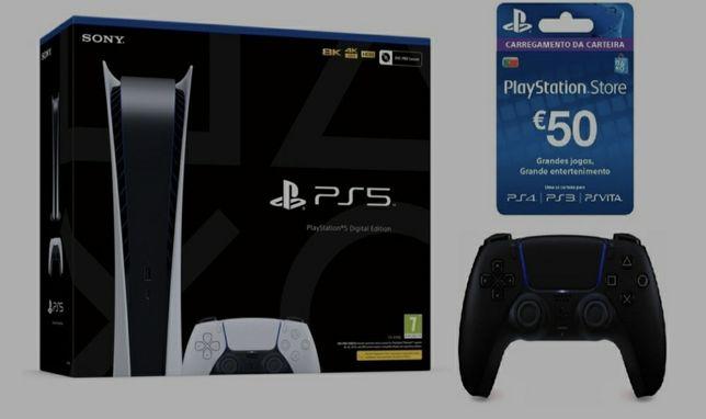 PlayStation 5 digital nova Selada