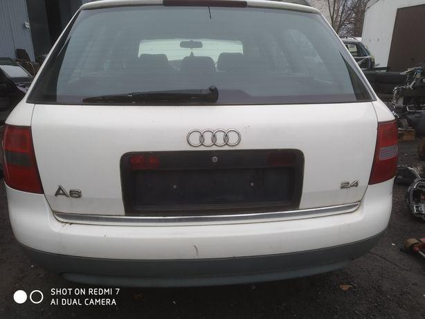 Audi A6 C5 Avant Kombi 97-01 - Zderzak tył tylny kpl LY9G
