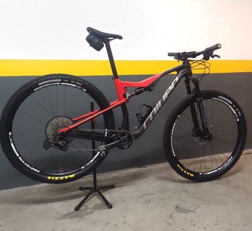 Bicicleta Coluer 6.1 Carbon BTT Roda 29 como NOVA -2021