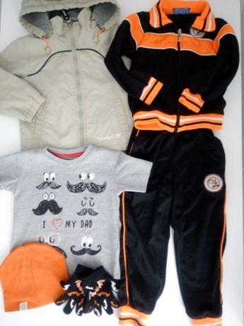 Комплект одежды на мальчика 2 -3 года: ветровка, спортивный костюм