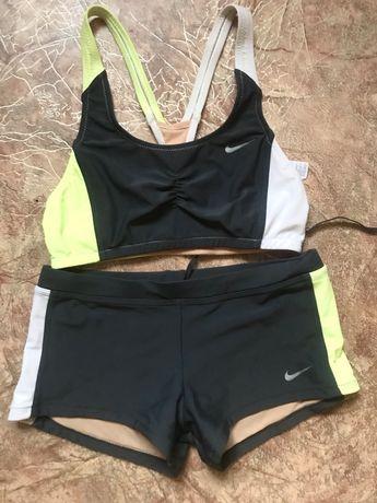 Nike топ и шорты