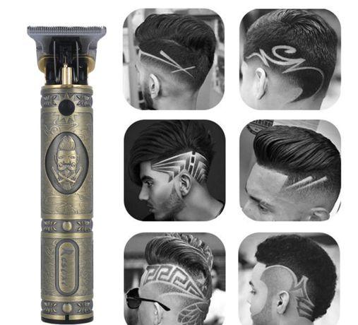 Профессиональная машинка для стрижки волос, бороды (триммер)