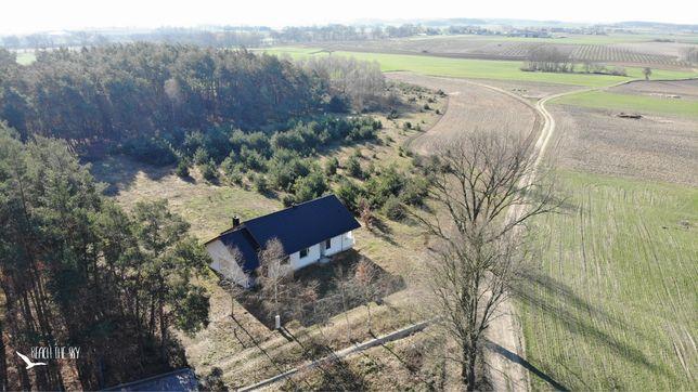 Sprzedam dom w budowie - spokojna okolica / las - dostepny od ręki