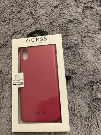 Etui iphone XS Max Guess