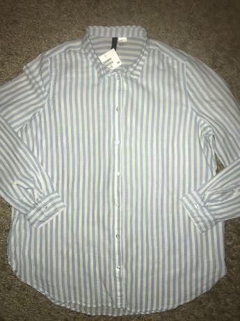 Блуза рубашка H&m размер 10/40 zara