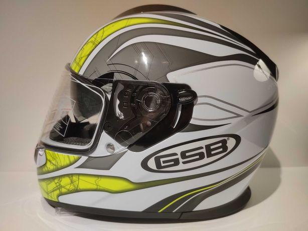 Capacete GSB S-350 integral scooter mota nova