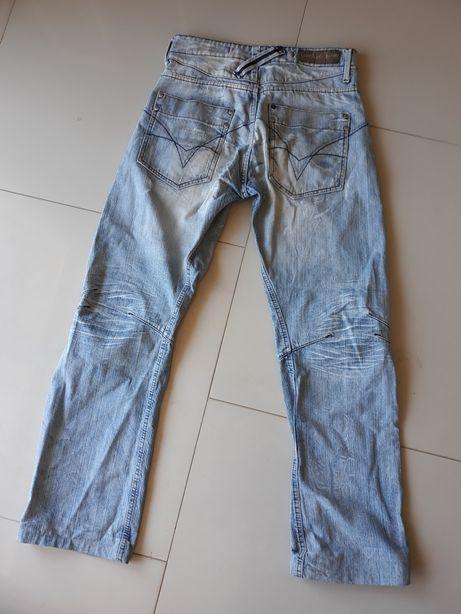 Nowe spodnie męskie jeansowe dżinsowe L