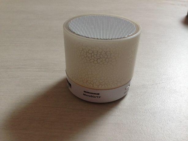 Głośnik biały led