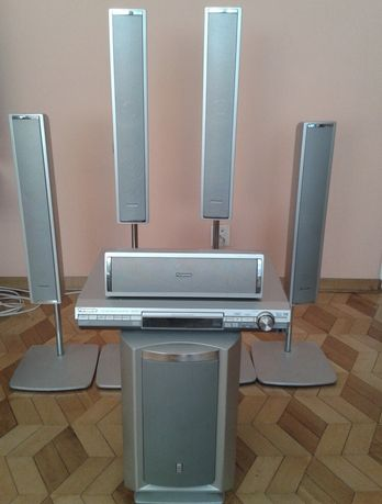 Multimedialne kino domowe Panasonic SA-HT870