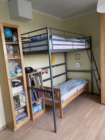 Łóżko piętrowe / antresola Ikea Svarta