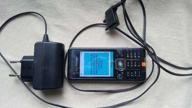 Sony Ericsson C510 + klapka + ładowarka