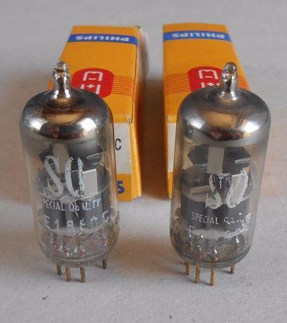 Par de válvulas electrónicas E188CC (7308) Philips